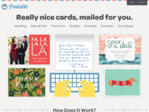 Postable - mail a card for you