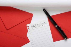 Wedding RSVP Envelope