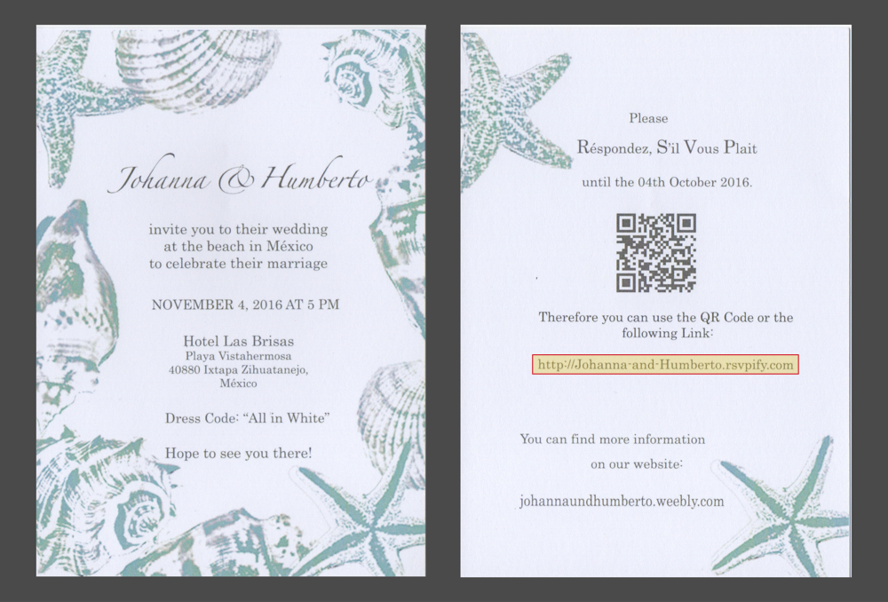 send paper wedding invitations and collect digital rsvps - Wedding Invitations Rsvp