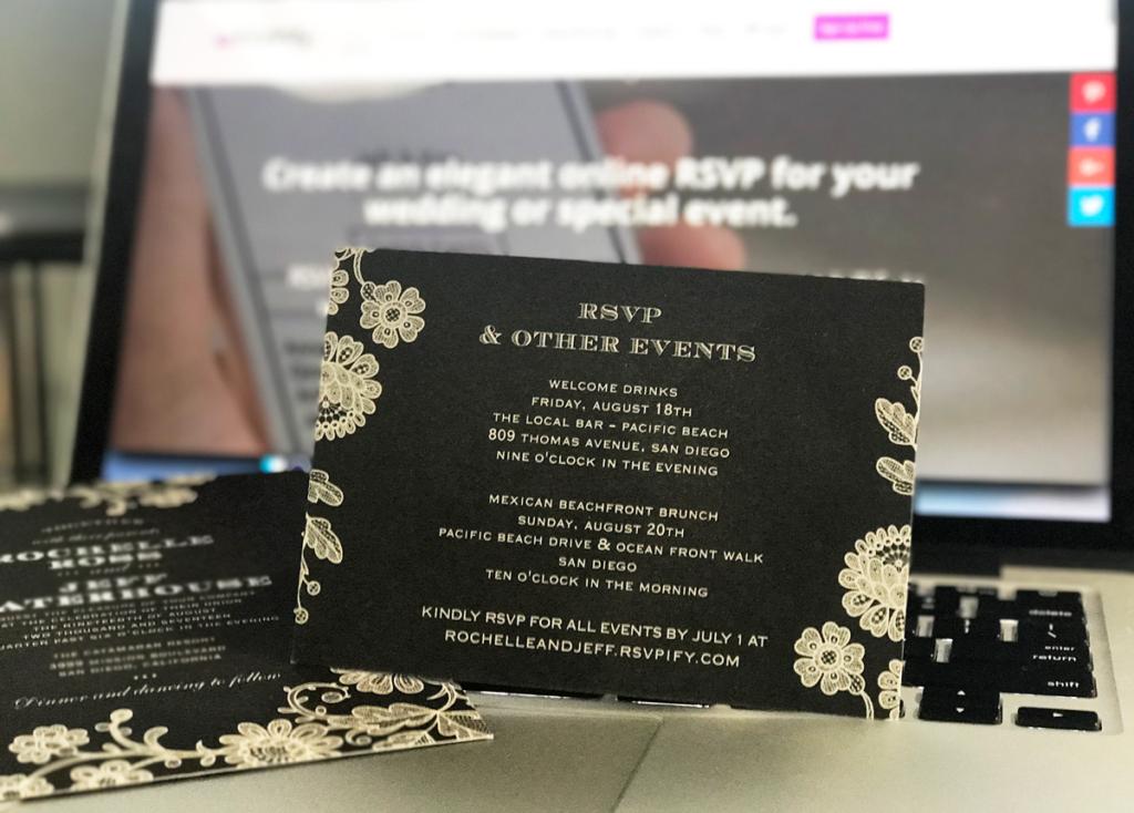 RSVP Website Free online RSVP app for weddings and events RSVPify