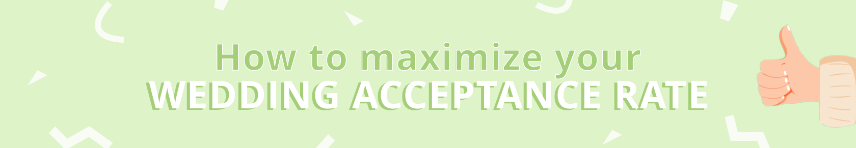 How to maximize your wedding acceptance rate with online rsvps